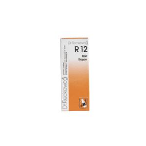 Reckeweg R12 homeopaattiset tipat
