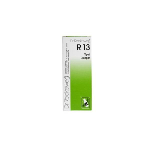 Reckeweg R13 homeopaattiset tipat