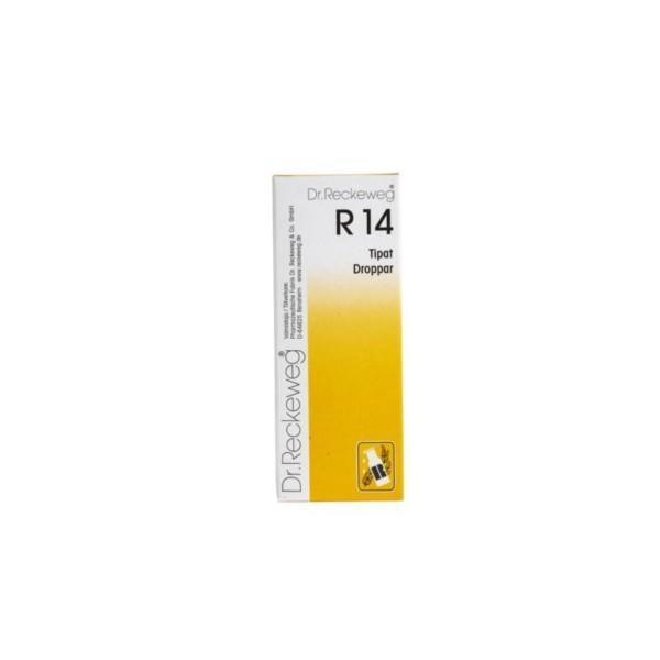 Reckeweg R14 homeopaattiset tipat