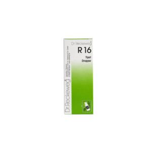 Reckeweg R16 homeopaattiset tipat