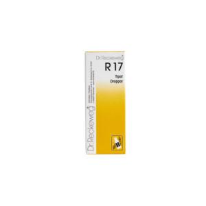 Reckeweg R17 homeopaattiset tipat
