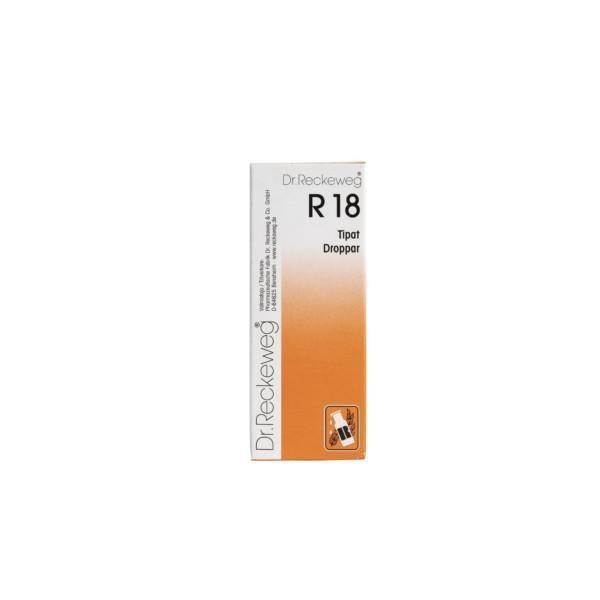 Reckeweg R18 homeopaattiset tipat