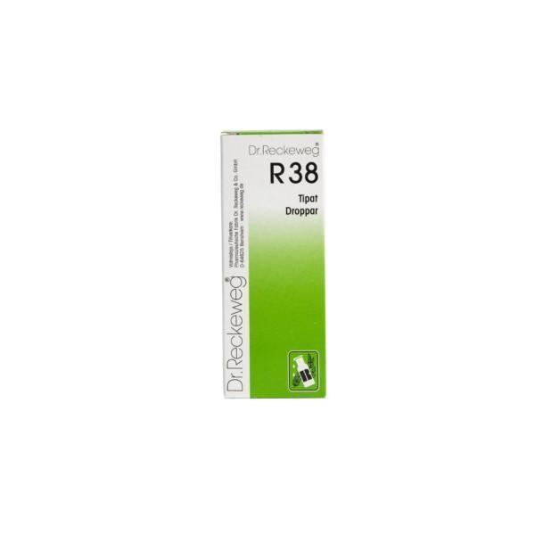 Reckeweg R38 homeopaattiset tipat