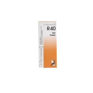 Reckeweg R40 homeopaattiset tipat