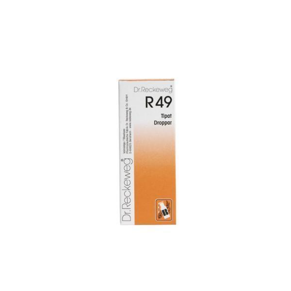 Reckeweg R49 homeopaattiset tipat