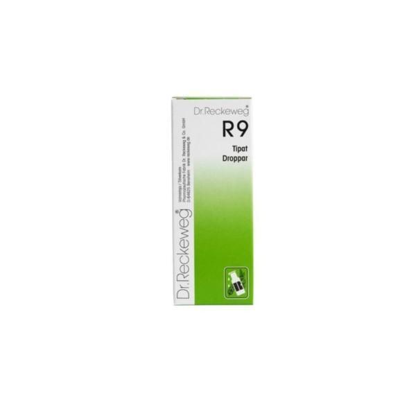 Reckeweg R9 homeopaattiset tipat