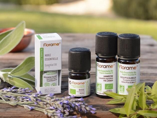 Aromaterapia: Florame-tuotteet